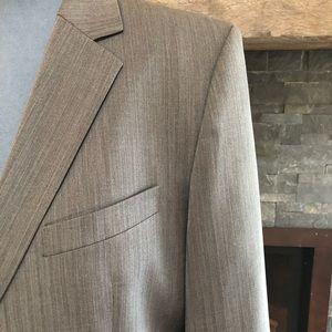 Hugo Boss grey mid weight blazer